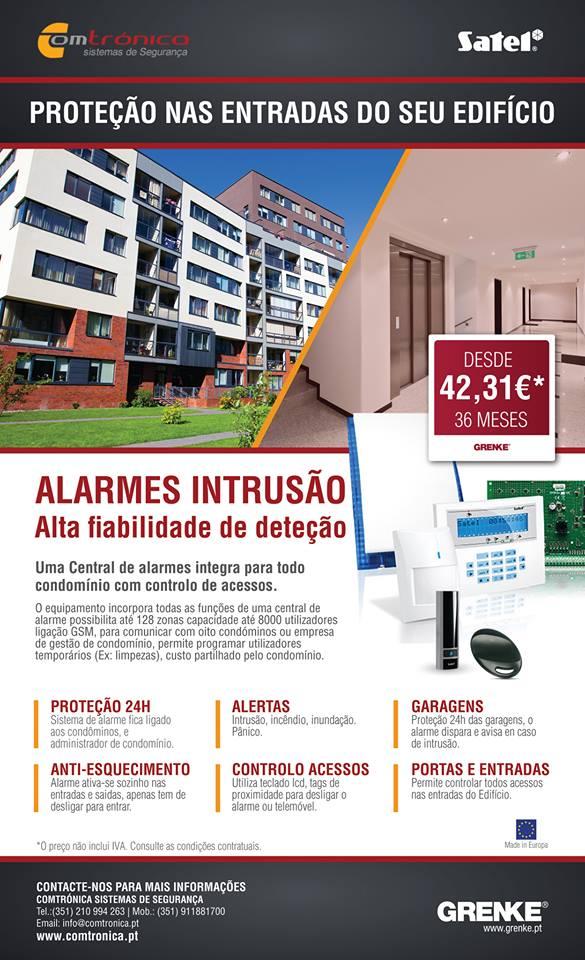 Alarme condominios