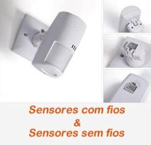 Sensores com e sem fios